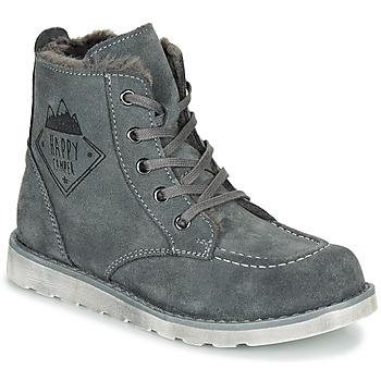 Schuhe Jungen Boots Citrouille et Compagnie LISITON Grau