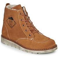 Schuhe Jungen Boots Citrouille et Compagnie LISITON Camel