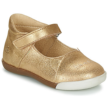 Schuhe Mädchen Ballerinas Citrouille et Compagnie LAKALA Gold