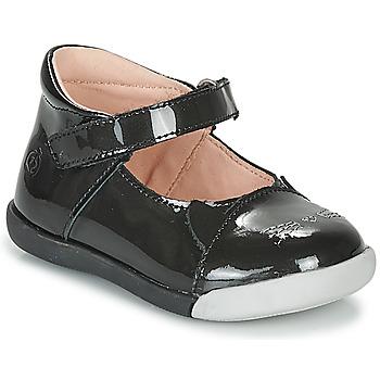 Schuhe Mädchen Ballerinas Citrouille et Compagnie LAKALA Schwarz