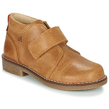 Schuhe Jungen Boots Citrouille et Compagnie LAPUPI Camel