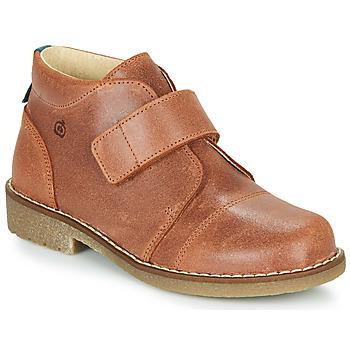 Schuhe Jungen Boots Citrouille et Compagnie LAPUPI Braun
