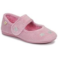 Schuhe Mädchen Hausschuhe Citrouille et Compagnie LAFIFOU Rose