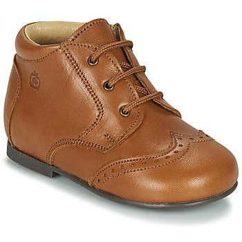 Schuhe Kinder Boots Citrouille et Compagnie LIMETTE Camel