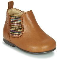 Schuhe Mädchen Boots Citrouille et Compagnie LISETTE Camel