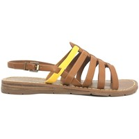 Schuhe Damen Sandalen / Sandaletten Chattawak sandales 7-SHIRLEY Camel/Jaune Braun