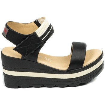 Schuhe Damen Sandalen / Sandaletten Chattawak sandales 9-PAVOT Noir Schwarz