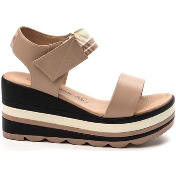 Schuhe Damen Sandalen / Sandaletten Chattawak sandales 7-PAVOT Poudre Rose