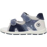 Schuhe Jungen Sandalen / Sandaletten Balocchi 493133 Blau und grau