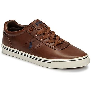 Schuhe Herren Sneaker Low Polo Ralph Lauren HANFORD Cognac
