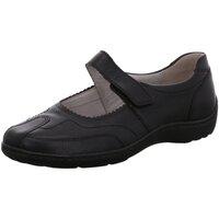 Schuhe Damen Ballerinas Waldläufer Slipper Henni H-Weite schwarz