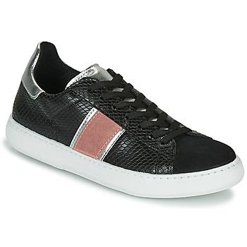 Schuhe Damen Sneaker Low Yurban LIEO Schwarz