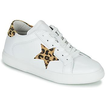 Schuhe Damen Sneaker Low Yurban LAMBANE Weiss