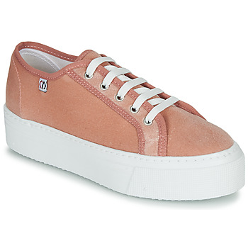 Schuhe Damen Sneaker Low Yurban SUPERTELA Rose