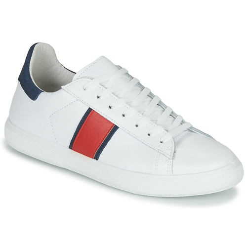 Schuhe Herren Sneaker Low Yurban LOUDE Weiss