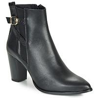 Schuhe Damen Low Boots So Size AURELIO Schwarz