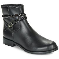 Schuhe Damen Boots So Size OSCARDO Schwarz
