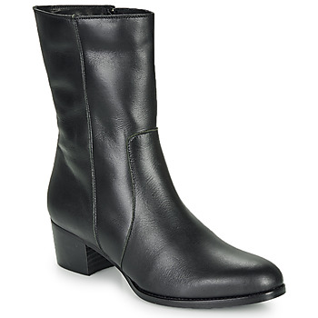 Schuhe Damen Low Boots So Size GASPARD Schwarz