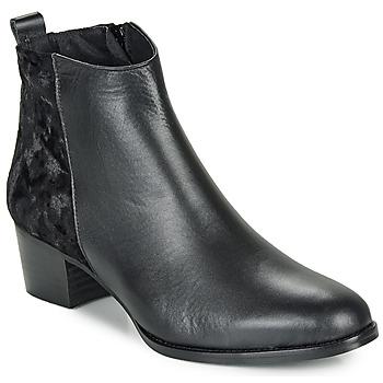 Schuhe Damen Low Boots So Size GUILERMO Schwarz