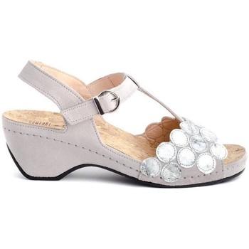 Schuhe Damen Sandalen / Sandaletten Comfort Class 832 CIRCUL. Grau