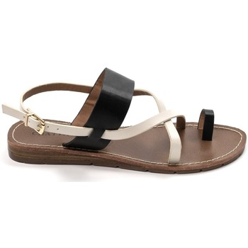 Schuhe Damen Sandalen / Sandaletten Chattawak sandales 7-VALERIANE Noir Schwarz