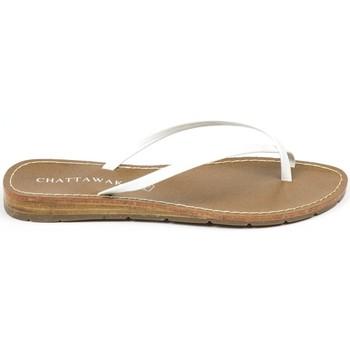 Schuhe Damen Sandalen / Sandaletten Chattawak sandales 7-RIADE Blanc Weiss