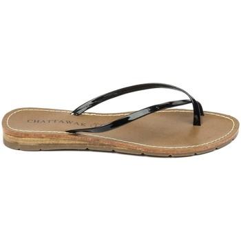 Schuhe Damen Sandalen / Sandaletten Chattawak sandales 7-RIADE Noir Schwarz
