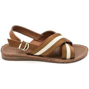 Schuhe Damen Sandalen / Sandaletten Chattawak sandales 7-TIFFANY Camel Braun