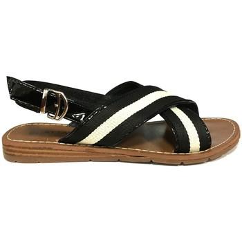 Schuhe Damen Sandalen / Sandaletten Chattawak sandales 7-TIFFANY Noir Schwarz