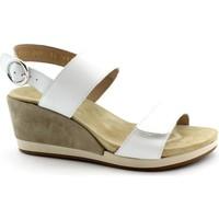 Schuhe Damen Sandalen / Sandaletten Benvado BEN-E19-43001001-BI Bianco