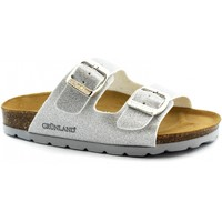 Schuhe Kinder Pantoffel Grunland GRU-E19-CB0664-AR-b Argento