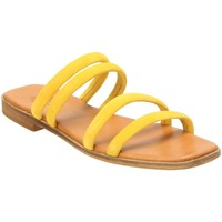 Schuhe Damen Pantoletten / Clogs Apple Of Eden Pantoletten Julie 23 Yellow gelb