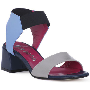 Schuhe Damen Sandalen / Sandaletten Le Babe 5021 MIRANDA NERO Nero
