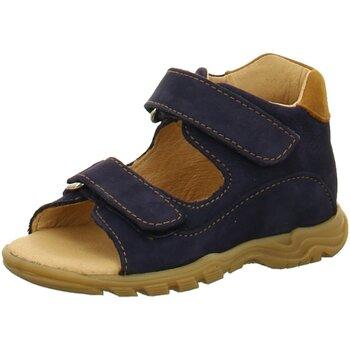 Schuhe Jungen Babyschuhe Sabalin Sandalen lauflernsandale in Violett 33-4878 BLU/COGNAC blau