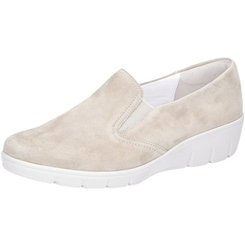 Schuhe Damen Slipper Semler Slipper SAMT-CHEVRO J7025042/094 beige