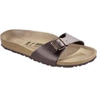 Schuhe Pantoffel Birkenstock & Co.kg Birkenstock Madrid dunkelbraun 040391 + 040393 Other