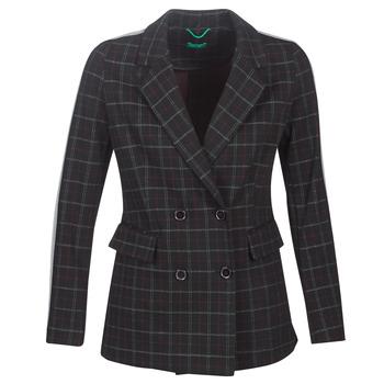 Kleidung Damen Mäntel Benetton SUDIDEL Schwarz