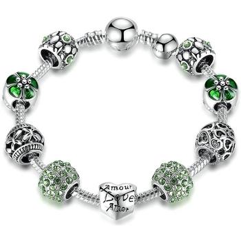 Uhren & Schmuck Damen Armbänder Blue Pearls CRY C2110 J Multicolor