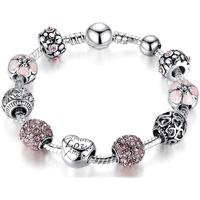 Uhren & Schmuck Damen Armbänder Blue Pearls CRY C2108 J Multicolor