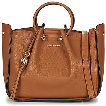 Taschen Damen Handtasche Ted Lapidus GRETEL Cognac