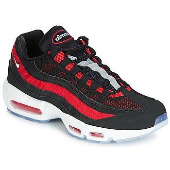 Schuhe Herren Sneaker Low Nike AIR MAX 95 Schwarz / Rot