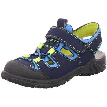 Schuhe Jungen Sportliche Sandalen Ricosta Trekkingsandalen GERALD 69 6522600/156 blau