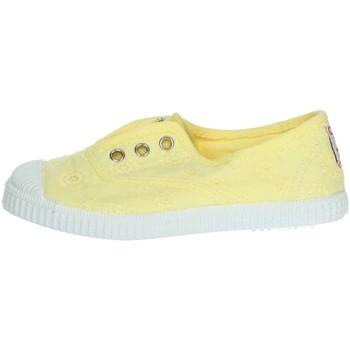 Schuhe Mädchen Sneaker Low Cienta 70998 Gelb