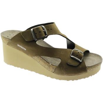 Schuhe Damen Pantoffel Mephisto MEPHTERIEma marrone
