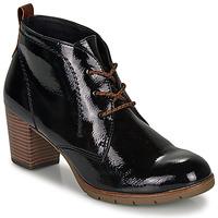 Schuhe Damen Low Boots Marco Tozzi  Schwarz