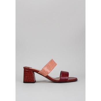 Schuhe Damen Pantoffel Roberto Torretta  Bordeaux