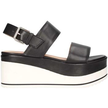 Schuhe Damen Sandalen / Sandaletten Janet Sport 43726 schwarz