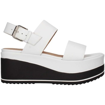 Schuhe Damen Sandalen / Sandaletten Janet Sport 43726 weiß