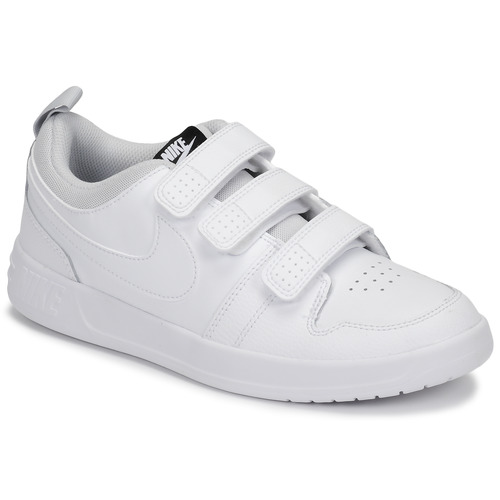 Schuhe Kinder Sneaker Low Nike PICO 5 GRAND SCHOOL Weiss
