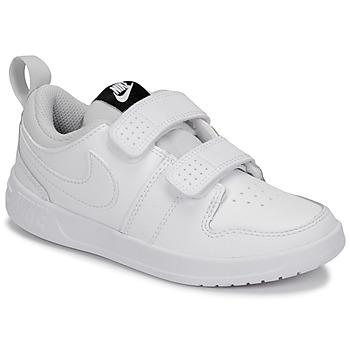 Schuhe Kinder Sneaker Low Nike PICO 5 PRE-SCHOOL Weiss
